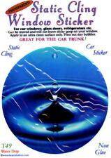 Water Drip - Static Cling Window Sticker