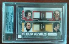 2012/13 ITG Cup Finals Silver. Cheevers, Park, Lafleur, Robinson #1/24!!!!!!!!