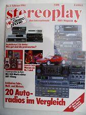 STEREOPLAY 2/84,PHILIPS AC 744,AC 825,AP 212,PIONEER KE 6300 SD K,8300,BP 320