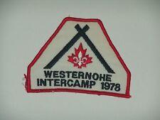 Intercamp - 1978 Westenohe - used good