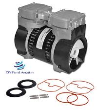 """3+cfm Rebuilt  VACUUM PUMP 23""""+hg compressor/veneer/aerate with Rebuild Kit!"""
