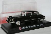Ixo Presse Auto Plus 1/43 - Citroen DS 19 Pallas Noire