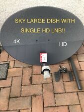 SALE!! SKY SATELLITE DISH ZONE 2 78CM SINGLE HD LNB FREESAT ASTRA HOTBIRD HD 4K