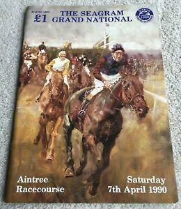 1990 Grand National Racecard, Mr Frisk & Marcus Armytage winning year