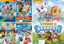 PAW PATROL Collection - Marshall & Chase On The Case - Winter Rescue : NEW 5 DVD