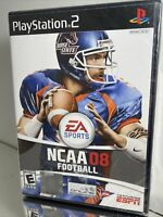 PS2 Playstation 2 NCAA Football 08 College 2008 EA Sports ESPN Sealed New
