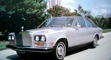 Rolls Royce Camargue Brochure 1984