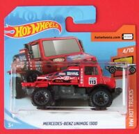 Hot Wheels 2019  MERCEDES-BENZ UNIMOG 1300  7/365 NEU&OVP