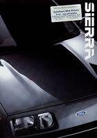 Ford Sierra Prospekt 1986 6/86 Autoprospekt brochure broschyr brosjyre prospetto