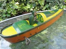 Ferdinand Strauss USA clockwork Speed Boat 28 immaculate c1930 bing floor runner