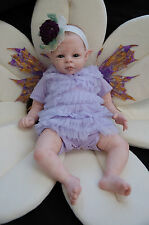 2014 Award winner~ Fae Pixie Violet FAIRY LE BLANK Reborn KIT by Shawna Clymer ~