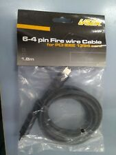 Laser Fire Wire 6 to 4 Pin Cable for PCI IEEE 1394 Card 1.8M New