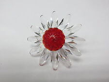 SWAROVSKI 2000 MARGHERITA FIORE ROSSO RED MARGUERITE SUN FLOWER 255805 SCS