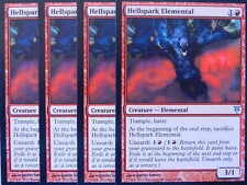 XXX 4x HELLSPARK ELEMENTAL englisch sorin vs. tibalt (trample haste red) NM/MINT
