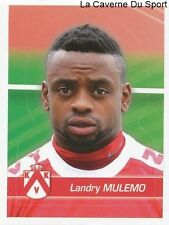 165 LANDRY MULEMO BELGIQUE KV.KORTRIJK STICKER FOOTBALL 2012 PANINI