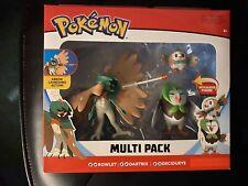 Pokemon Action Figures Multi Pack Rowlet Dartrix Decidueye Target Exclusive