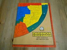PARANOIA - Mapa DOA - juego de rol - JOC - West End Games