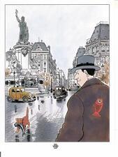 """ex libris Tardi: """"Poissons""""  - non signé"""