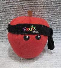 Vintage 2011 Fruit Ninja Red Apple Plush Stuffed Toy FREE S/H