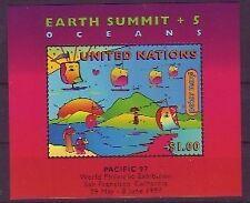 Briefmarken der Vereinten Nationen mit Natur-Motiv