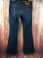 Lucky Brand Sweet N Low Boot Cut Jeans Size 8/29 Dark Wash Stretch Women's