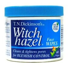 BEST PRICE! T.N. DICKINSON'S WITCH HAZEL FACE WIPES 60 WIPES ACNE DISCOUNT