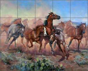 Horse Tile Mural Products For Sale Ebay