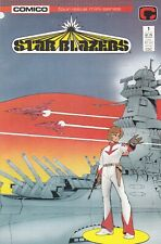 Star Blazers #1   NM 9.4  COMICO  White Pages