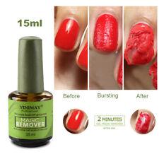 Magic Nail Polish Remover Professional Remove Soak-Off Gel Polish IN 2-3 Minutes