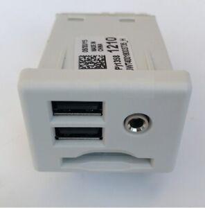 Dual USB SD Memory Card Slot Aux Socket Jack for Chevy Impala Cadillac ATS