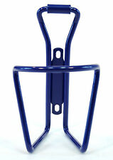Clean Motion Crimper Alloy Bicycle Water Bottle Cage Blue