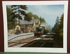 MUCH WENLOCK by Don Breckon,STAMPED,SIGNED,LIMITED EDITION Print