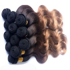 "Brazilian Virgin Hair Body Wave 14""16""18(300g)7A Ombre 1B/33/27 SAMEDAY DISPATCH"