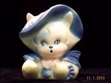 VINTAGE HULL CHINA CAT VASE, PLANTER 'NO RESERVE'