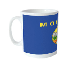 Mug Drapeau MONTANA