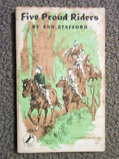 Puffin Story Book PS74 Five Proud Riders by Ann Stafford 1953 New Forest Ponies