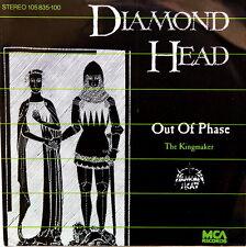 "Diamond Head 7"" vinyl single Out Of Phase German 105835-100 MCA 1983 Metallica"