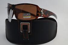 Occhiali da sole da donna Dolce&Gabbana con montatura in marrone con lenti in marrone