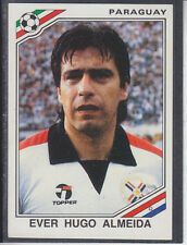 Panini - Mexico 86 World Cup - # 163 Ever Almeida - Paraguay