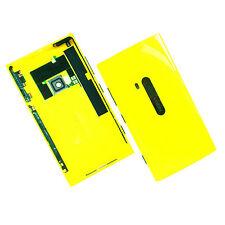 100% Original Nokia Lumia 920 Carcasa Trasera + Cámara De Vidrio + botones Laterales Amarillo posterior