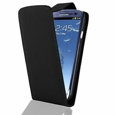 Black Plain with clip CASE FOR SAMSUNG GALAXY S3 SIII i9300 with card holder