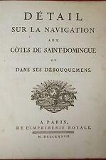 1787 Pilot Guide Haiti - Sailing Navigation Haiti Charts - 1st Edition