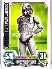 Clone Pilot Warthog  #059 - Force Attax Serie 3