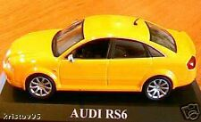 AUDI RS6 JAUNE IXO ALTAYA 1/43 NEUVE YELLOW CAR MODEL GELB DIE CAST WAGEN