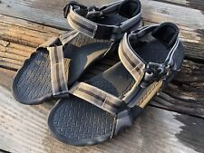 TEVA Black Gray Sandals Size Men's Size 8 Euro 40.5 Canvas Water Sports Beach