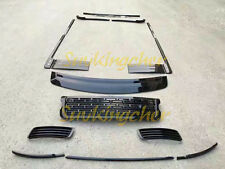 Fit Range Rover 2013-2016 2017 front grille mesh side vent door sill trim kits