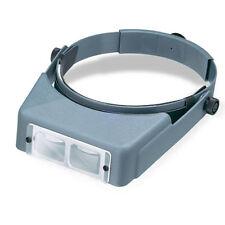 Donegan LX-5 OptiVisor® AL Binocular 2.5X Magnifier. Adjustable Headband Style