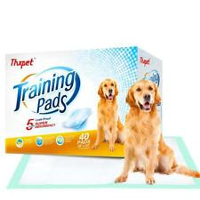 Thxpet Puppy Pads Super Absorbent Leak-Proof 40 Count Dog Pee Training Pads 28 X
