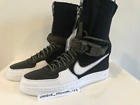 NIKE AIR FORCE 1 DOWNTOWN HI SP ACRONYM AF1 UK 5 6 7 8 9 10 11 BLACK WHITE TOE
