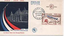 No 1422..PHILATEC 1964..PREMIER JOUR .5 JUIN 1964..COTE 30 €. PRIX: 4,95 €